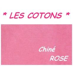 DRAP HOUSSE 2x80x200  LIT ARTICULE tête et pied relevable / Chiné ROSE