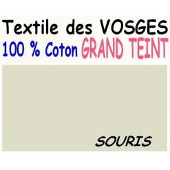 DRAP HOUSSE LONGUEUR  220 cm GRAND TEINT 100 % COTON  / 11 DIMENSIONS au choix / SOURIS