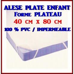 ALESE  PLATE Bébé 40 x 80 / 100 % PVC IMPERMEABLE