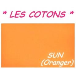 DRAP HOUSSE LONGUEUR  220 cm Bonnet 25 cm / 11 DIMENSIONS au choix / SUN