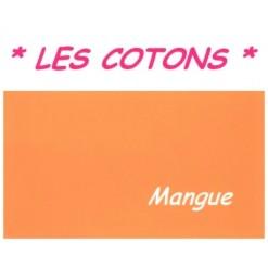 DRAP HOUSSE LONGUEUR  220 cm Bonnet 25 cm  / 7 DIMENSIONS au choix / MANGUE