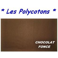 DRAP HOUSSE LONGUEUR  220 cm Bonnet 25 cm / 11 DIMENSIONS au choix / CHOCOLAT PC