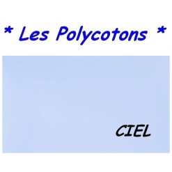 DRAP HOUSSE LONGUEUR  220 cm Bonnet 25 cm / 11 DIMENSIONS au choix / CIEL PC