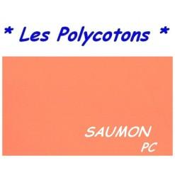 DRAP HOUSSE LONGUEUR  220 cm Bonnet 25 cm / 11 DIMENSIONS au choix / SAUMON PC