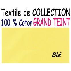 DRAP HOUSSE LONGUEUR  220 cm GRAND TEINT 100 % COTON  / 7 DIMENSIONS au choix / BLE