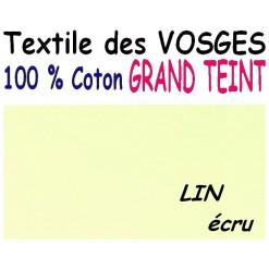 DRAP HOUSSE LONGUEUR  220 cm GRAND TEINT 100 % COTON  / 11 DIMENSIONS au choix / LIN