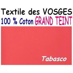 DRAP HOUSSE LONGUEUR  220 cm GRAND TEINT 100 % COTON  / 11 DIMENSIONS au choix / TABASCO GT