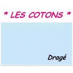 DRAP HOUSSE 2x70x190  LIT ARTICULE tête et pied relevable / Dragé