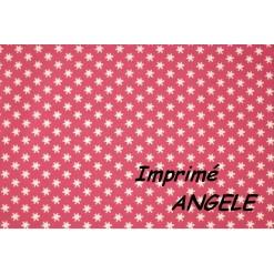 DRAP HOUSSE bébé 60x130 BONNET 20 cm / Imprimé ANGELE