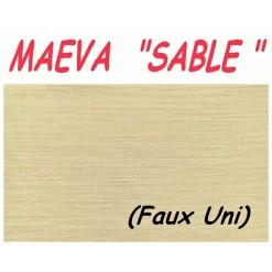 DRAP HOUSSE bébé 80x120 BONNET 20 cm / MAEVA SABLE