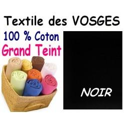 DRAP HOUSSE bébé 80x120 cm GRAND TEINT / NOIR