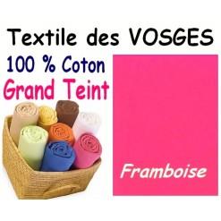 DRAP HOUSSE bébé 80x120 cm GRAND TEINT / FRAMBOISE
