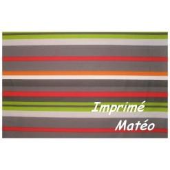 TAIE OREILLER 60x70 cm / Imprimé MATEO