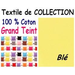 TAIE OREILLER 60x70 cm GRAND TEINT / Blé
