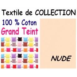 TAIE OREILLER 60x70 cm GRAND TEINT / NUDE