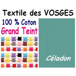 LA TAIE OREILLER 50x60 cm GRAND TEINT / CELADON