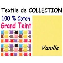 LA TAIE OREILLER 40x60 cm GRAND TEINT / VANILLE