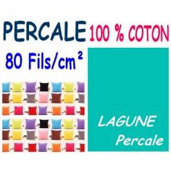LA TAIE OREILLER 40x60 cm PERCALE / LAGUNE