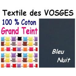 LA TAIE OREILLER 40x60 cm GRAND TEINT / BLEU NUIT
