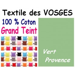 LA TAIE OREILLER 40x60 cm GRAND TEINT / VERT PROVENCE