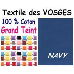 LA TAIE OREILLER 40x60 cm GRAND TEINT / NAVY