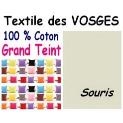 LA TAIE OREILLER 40x60 cm GRAND TEINT / SOURIS