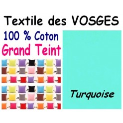 LA TAIE OREILLER 40x60 cm GRAND TEINT / TURQUOISE