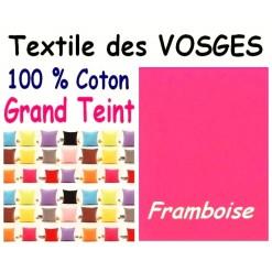 LA TAIE OREILLER 40x60 cm GRAND TEINT / FRAMBOISE