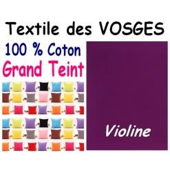 LA TAIE OREILLER 40x60 cm GRAND TEINT / VIOLINE